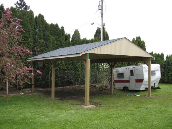 Roseway Carport project 4 07 013